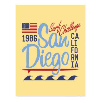 Carte Postale Défi 1986 de surf de San Diego