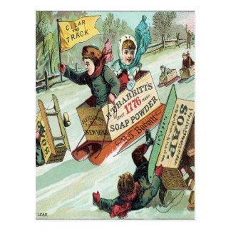 Carte Postale Dégagez la voie
