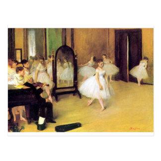Carte Postale Dégazez les danseurs classiques