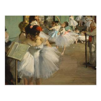 Carte Postale Dégazez les danseurs classiques de classe de danse