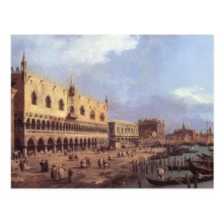 Carte Postale Degli Schiavoni de Canaletto- Riva : Regard est