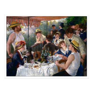 Carte Postale Déjeuner de la partie de canotage par Renoir