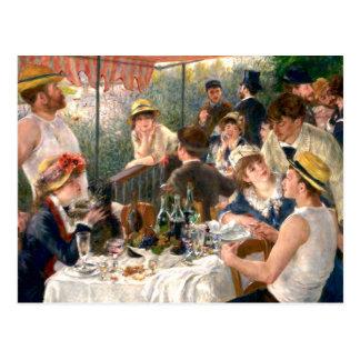 Carte Postale Déjeuner français de Renoir à la partie de