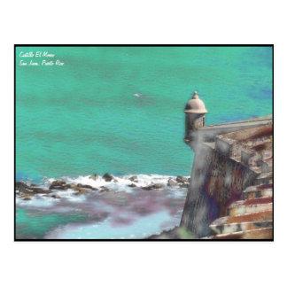 Carte postale d'EL Morro -2 de Castillo