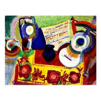 Carte Postale Delaunay - de Portugais toujours la vie