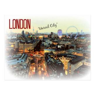 """Carte postale d'Eliot """"de ville irréelle"""" de"""