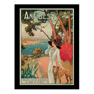 Carte Postale Dellepiane Antibes France