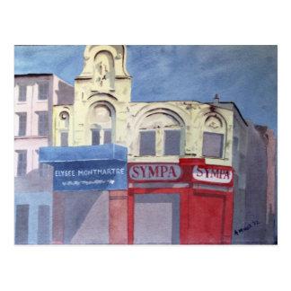 Carte postale d'Elysee Montmartre
