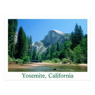 Carte Postale Demi de copie du dôme 20x30, Yosemite, la
