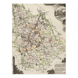 Carte Postale Département de Vienne