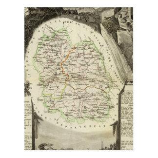 Carte Postale Département tout Lozere
