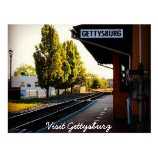 Carte Postale Dernier train vers Gettysburg