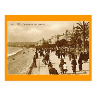 Carte postale, DES Anglais de promenade, Nice