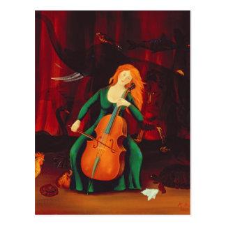 Carte Postale DES Animeaux 2001 de Carneval