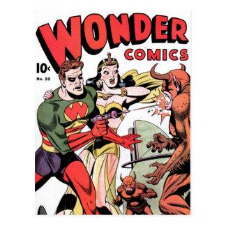 Carte postale des bandes dessinées #10 de
