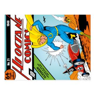 Carte postale des bandes dessinées #21 de