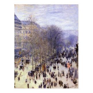 Carte Postale DES Capucines par Claude Monet, beaux-arts de