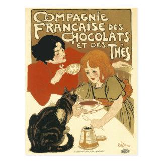 Carte postale : DES Chocolats de Compagnie