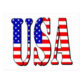 Carte postale des Etats-Unis