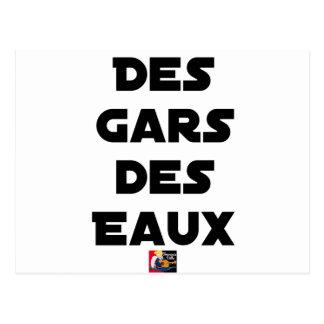 Carte Postale Des Gars des Eaux - Jeux de Mots - Francois Ville
