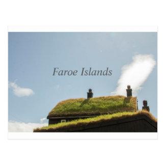 Carte postale des Iles Féroé