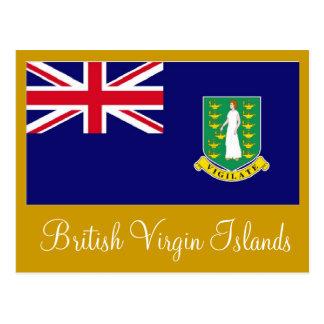 Carte postale des Îles Vierges britanniques