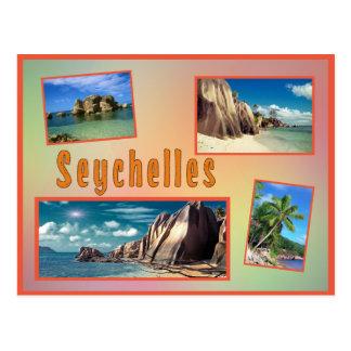 Carte postale des Seychelles