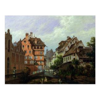 Carte Postale DES Tanneurs, Colmar, 1875 de rue