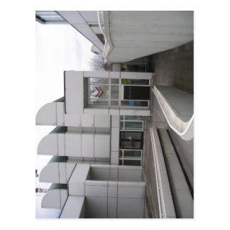 Carte Postale Description : Bauhaus Archiv Berlin - Haupteingang