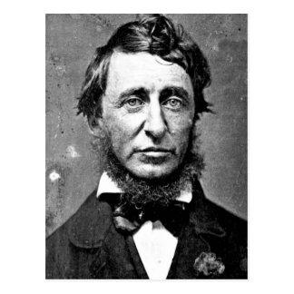 Carte Postale Description Henry David Thoreau (1817-1862) en
