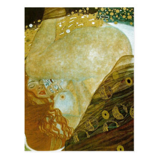 Carte Postale Description sommaire Danae, huile sur la toile, 77