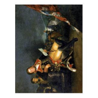 Carte Postale Description sommaire Manuel Godoy, duc d'Alcudia,