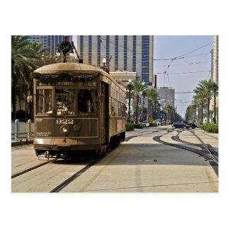 Carte Postale Désir appelé par tramway