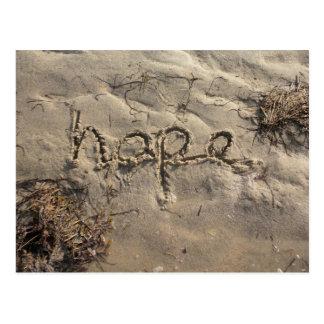 Carte postale d'espoir