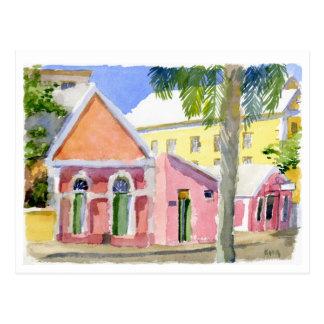 Carte postale d'essai de salles