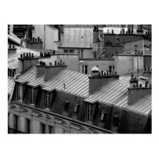 Carte Postale Dessus de toit de Paris