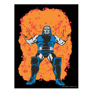 Carte Postale Destruction de Darkseid