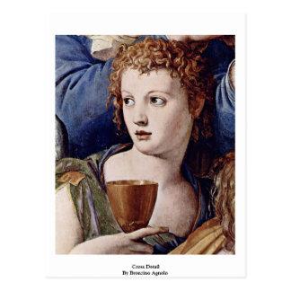Carte Postale Détail croisé par Bronzino Agnolo