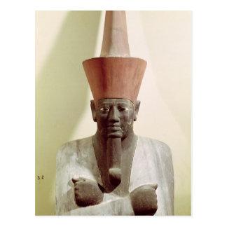 Carte Postale Détail d'une statue de Mentuhotep II