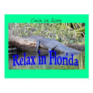 Carte Postale Détendez en Floride