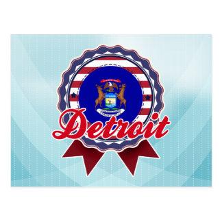 Carte Postale Detroit, MI