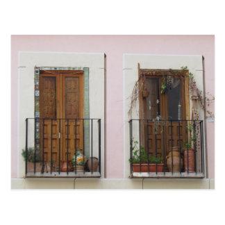 Carte Postale Deux portes à Toledo, Espagne