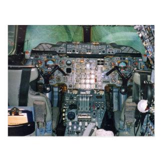 Carte postale d'habitacle de Concorde