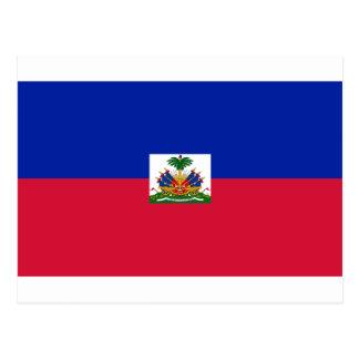 Carte Postale d'Haïti de Drapeau - drapeau du Haïti