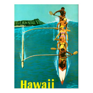 Carte postale d'Hawaï