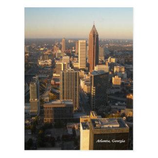 Carte postale d'horizon d'Atlanta la Géorgie