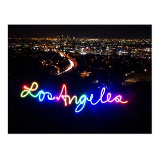 Carte postale d'horizon de Los Angeles