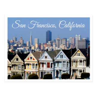 Carte postale d'horizon de San Francisco CA -