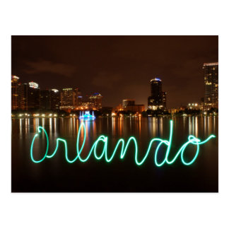 Carte postale d'horizon d'Orlando