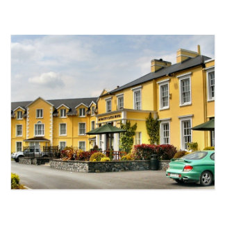 Carte postale d'hôtel de château de Bunratty